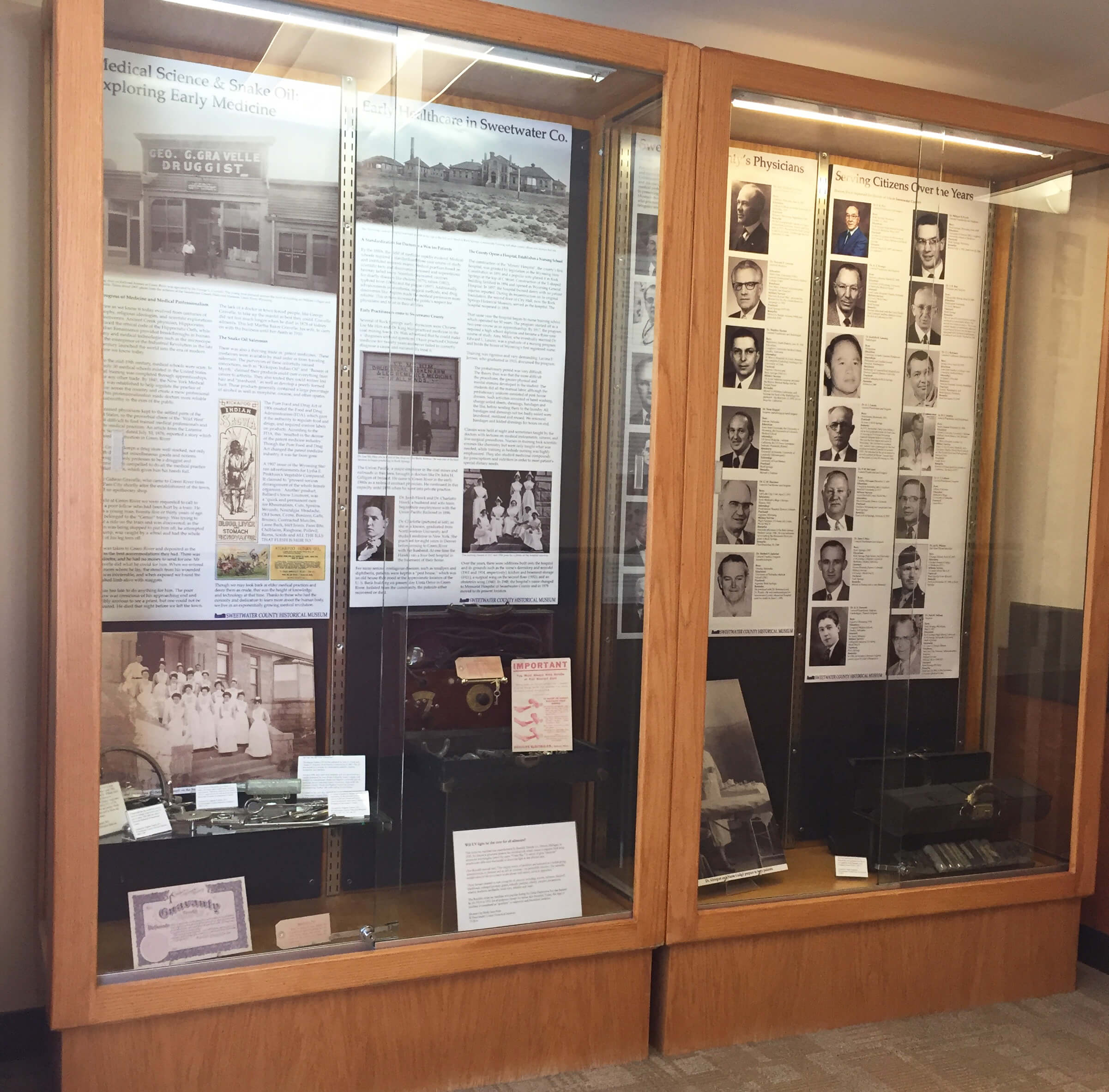 Historical Display at Sweetwater