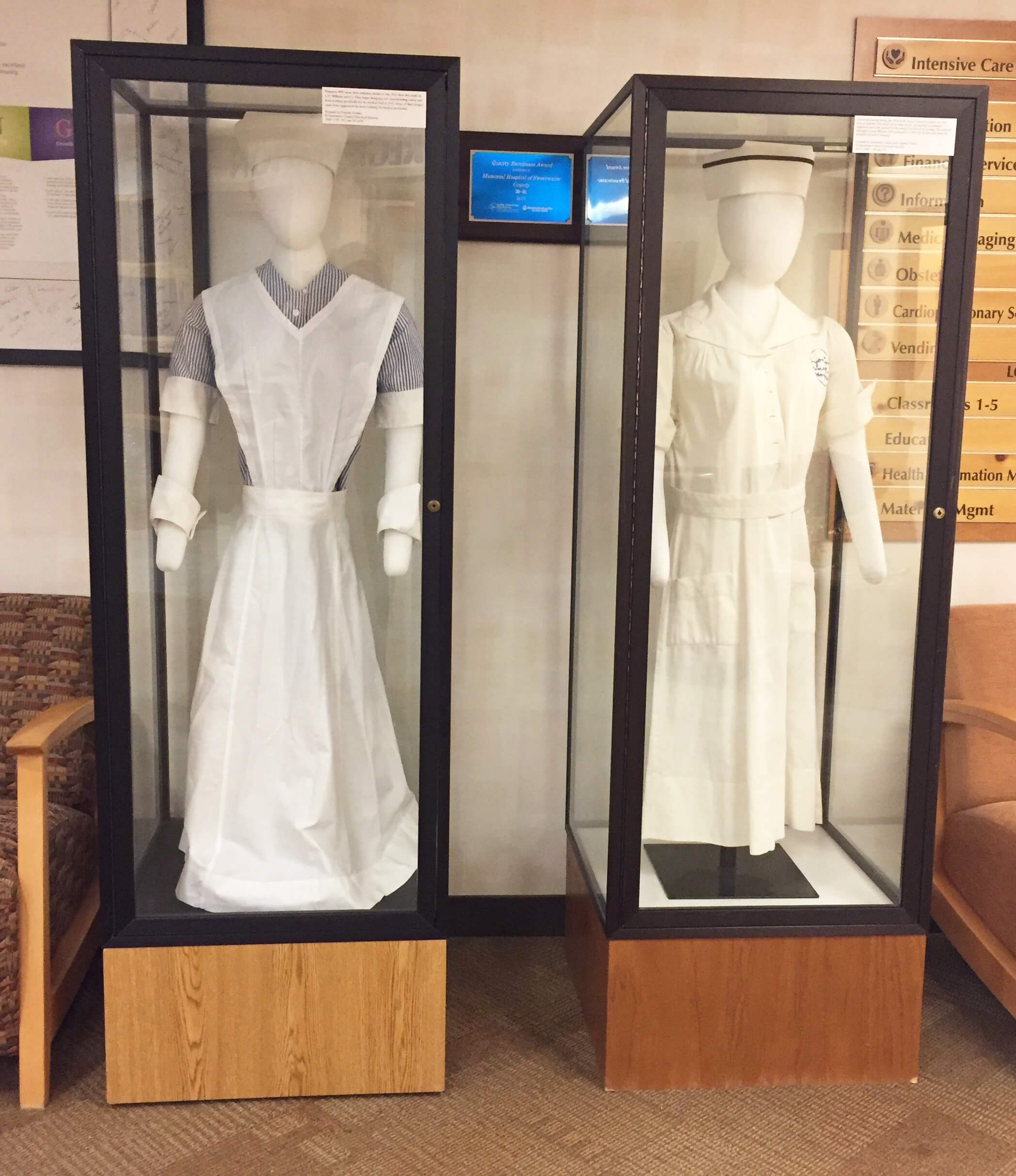 old-time nurse uniforms